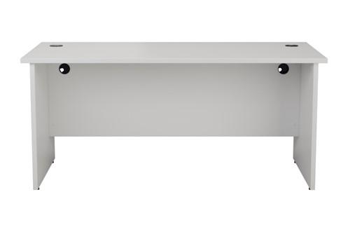 Kestral White Rectangular Panel Desk