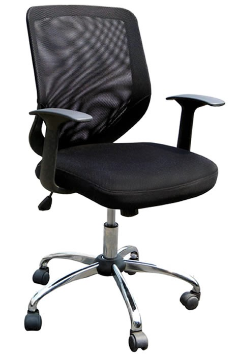 Endo Mesh Office Chair Breathable Mesh Back Fixed Arms