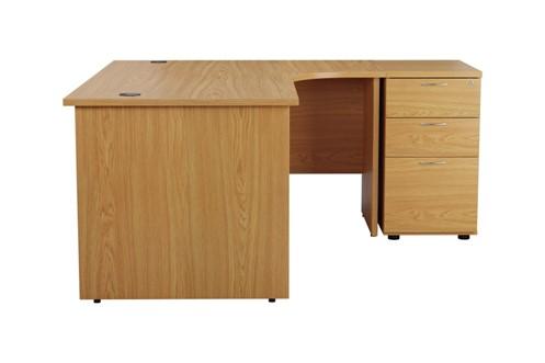 Kestral Corner Panel Desk And Pedestal