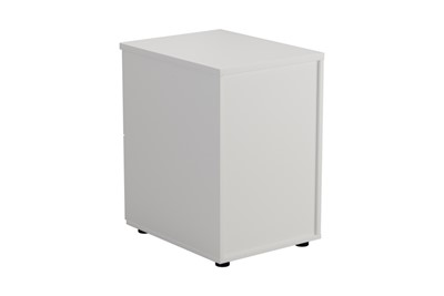 Kestral White 2 Drawer Filing Cabinet