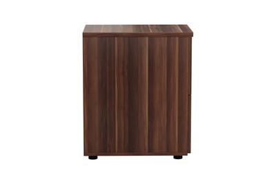 Kestral Dark Walnut 2 Drawer Filing Cabinet