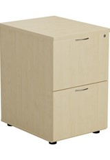 Kestral Maple 2 Drawer Filing Cabinet