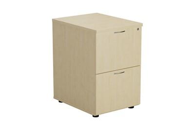 Kestral Maple 2 Drawer Filing Cabinet