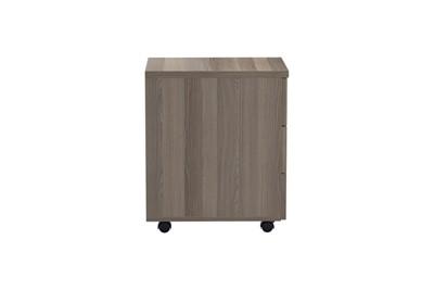 Kestral Grey Oak 3 Drawer Mobile Pedestal