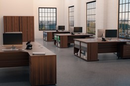 Kestral Office Range Dark Walnut Range