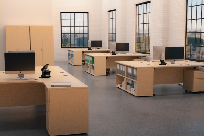 Kestral Office Maple Range