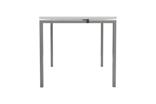 Kestral White 1 Person Single Bench Desk