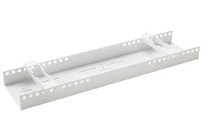 Double Horizontal Cable Tray - 1215 White