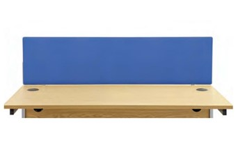 Hawk Straight Screen - 1200 x 400 Royal Blue