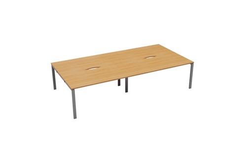 Kestral 4 Person Double Bench Desk