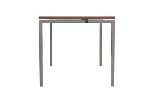 Kestral Dark Walnut 1 Person Single Bench Desk
