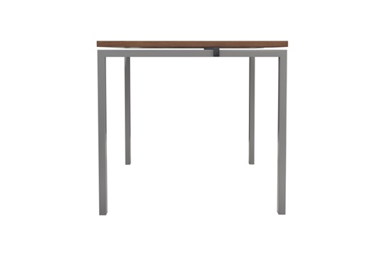 Kestral Dark Walnut 1 Person Single Bench Desk