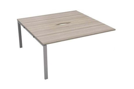 Kestral Grey Oak 2 Person Bench Extension