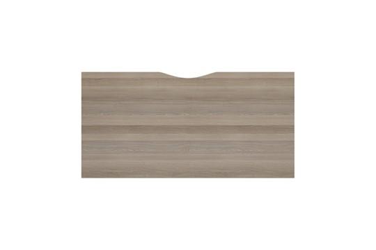 Kestral Grey Oak 1 Person Single Bench Desk