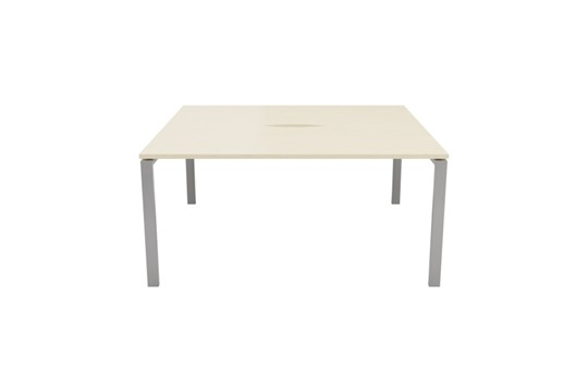 Kestral Maple 2 Person Double Bench Desk