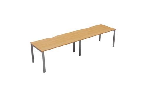 Kestral 2 Person Single Bench Desk