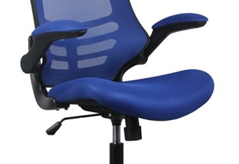 Alabama Mesh Office Chair - Blue