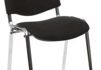 Chrome Conference Chair - Black No