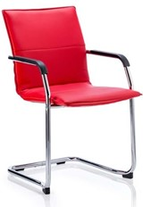 Companion Visitor Chair - Red