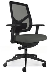 Logic Mesh Operators Chair - Grey