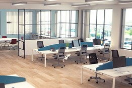 Kestral White Office Range