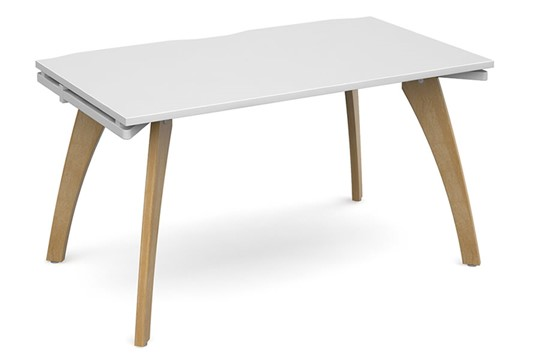 Fuze Single Bench Desk