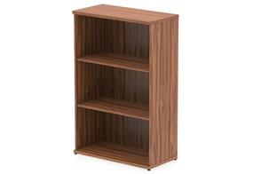 Nova Walnut 1200mm Office Bookcase