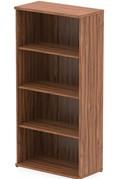 Nova Walnut 1600mm Office Bookcase
