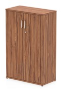 Nova Walnut  Tall Office Cupboard
