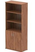 Nova Walnut Open Shelf Cupboard