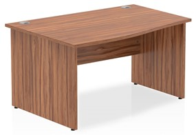 Nova Walnut  Wave Desk