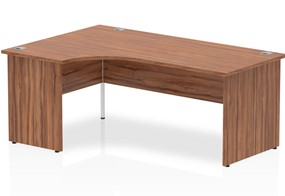 Nova Walnut Panel End Corner Desk
