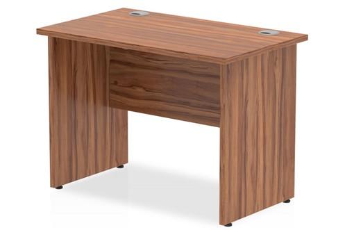 Nova Walnut Small Office Desk
