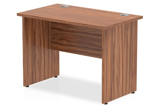 Nova Walnut Small Office Desk