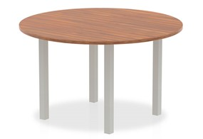 Nova Walnut 1200mm Round Meeting Table