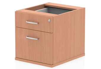 Price Point Beech Fixed Pedestal - 2 Drawer