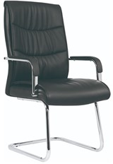 Carter Leather Visitor Chair