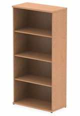 Norton Oak 1600mm Office Bookcase