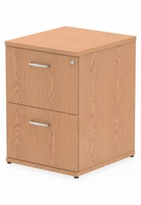 Norton Oak 2 Drawer Filing Cabinet