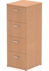 Norton Oak 4 Drawer Filing Cabinet