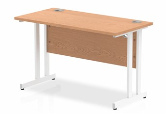 Norton Oak Rectangular Cantilever Desk - 1200mm x 600mm