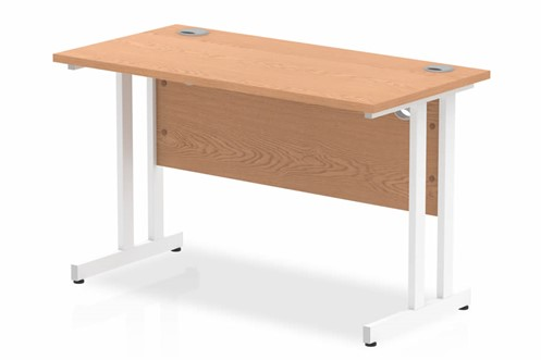 Norton Oak Rectangular Cantilever Desk