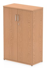 Norton Oak Tall Office Cupboard - 1200mm High