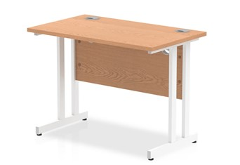 Norton Oak Return Cantilever Desk