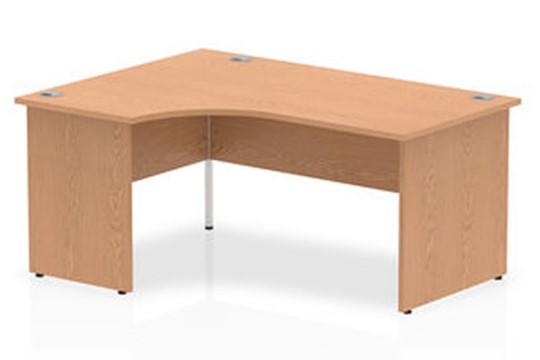 Norton Oak Panel End Corner Desk