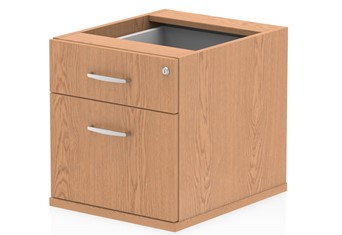 Norton Oak Fixed Pedestal - 2 Drawer