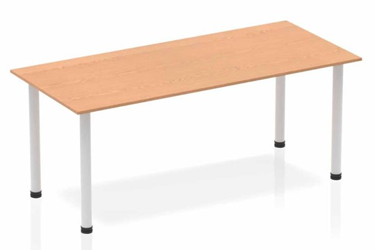 Norton Oak Straight Table Post Leg