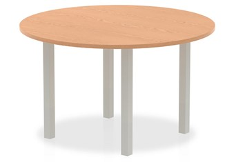 Norton Oak 1200mm Round Meeting Table