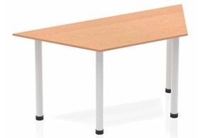 Norton Oak Trapezium Table 1600 Post Leg
