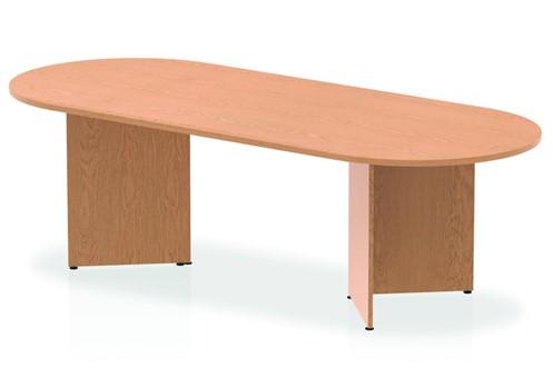 Norton Oak 2400 Boardroom Table Panel Leg